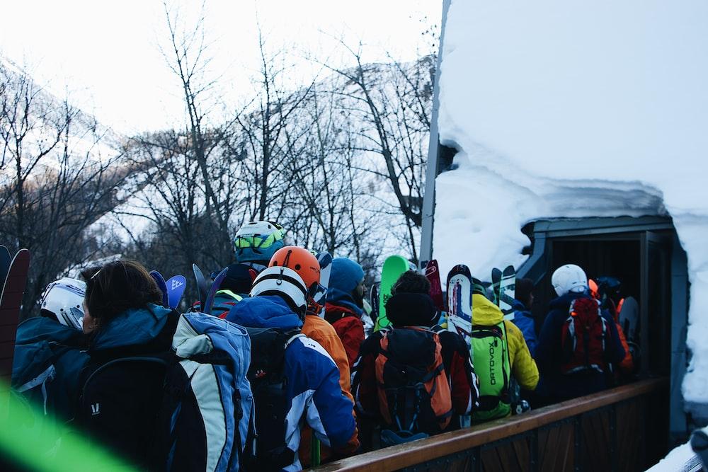 people gathering outdoor during daytime