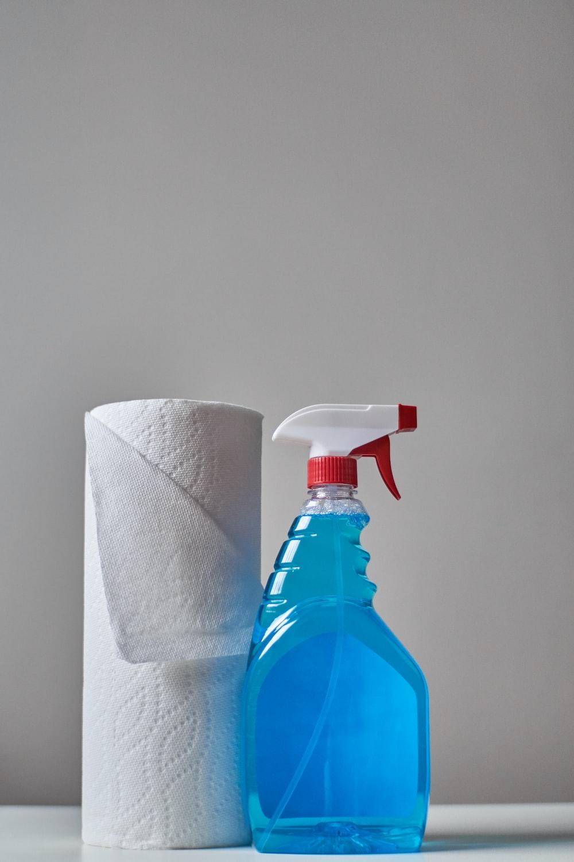 clear spray bottle