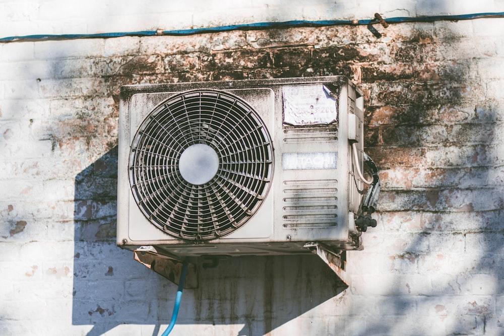 white air condenser unit