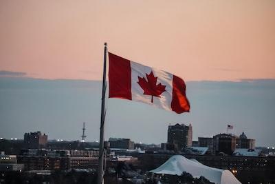 waving canada flag canada teams background