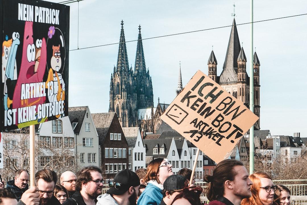 Protest gegen die EU-Zensurpläne am 2. März in Berlin: Artikel 13 verhindern!