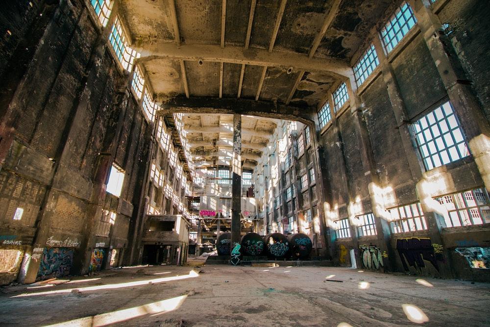 brown factory