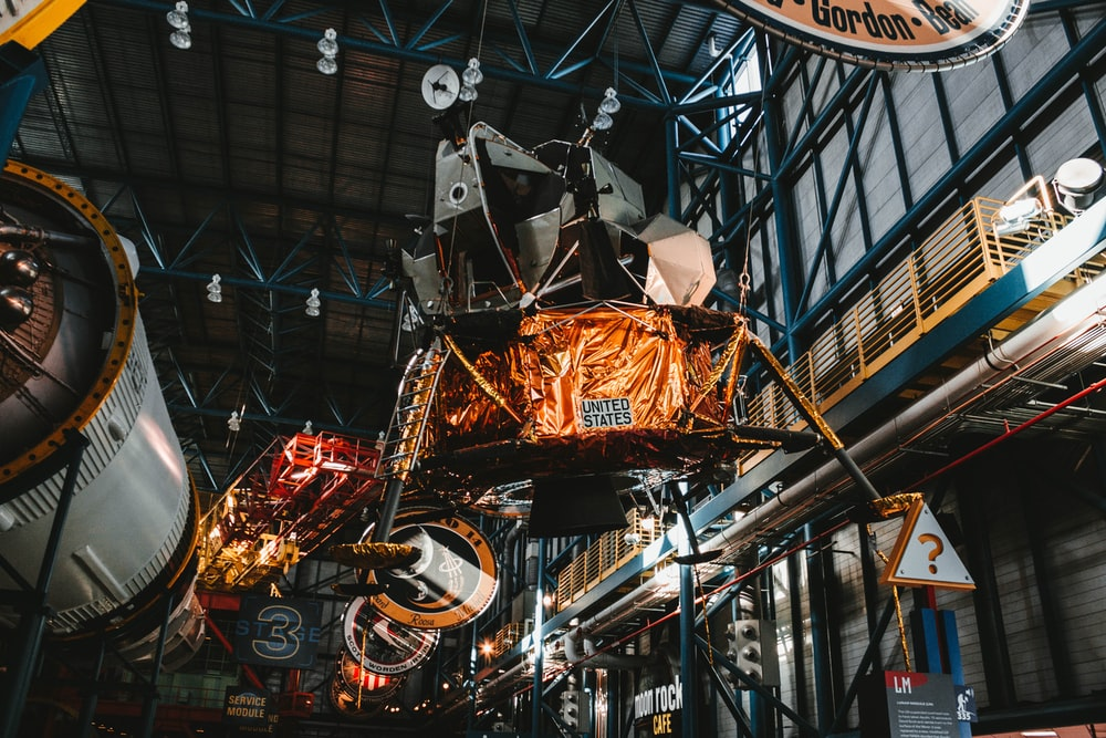 industrial machines inside factory
