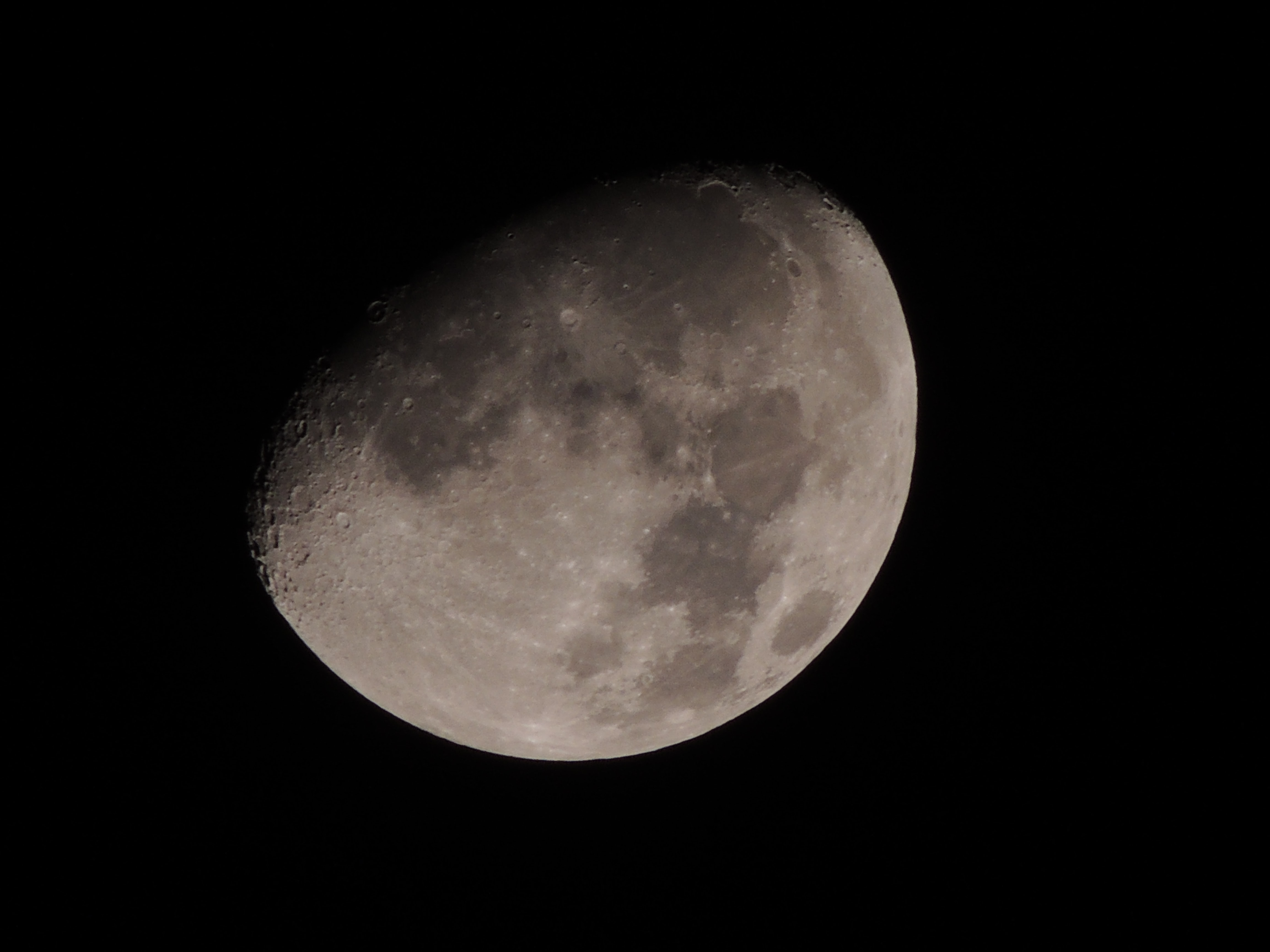 moon at night time