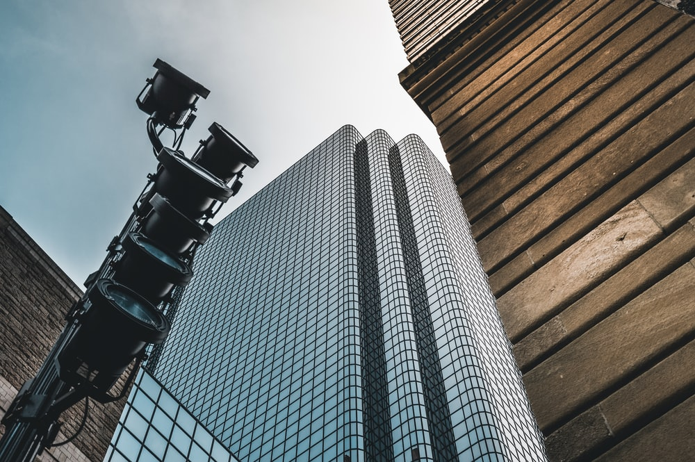 low-angle photography of high-rise building during daytime