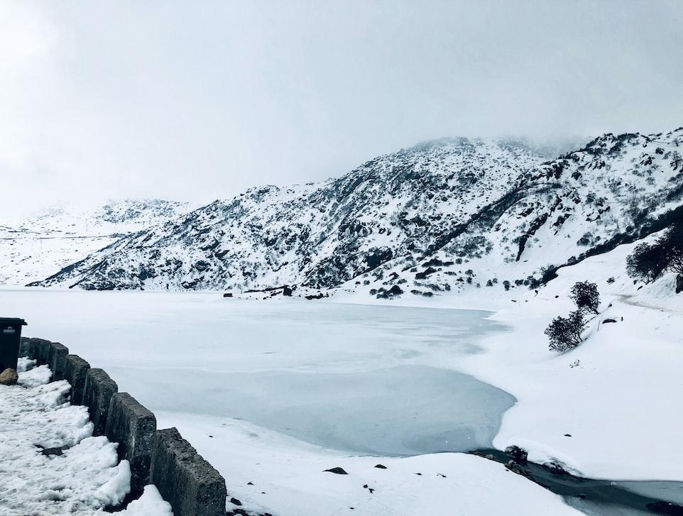 Nathula Pass in winter