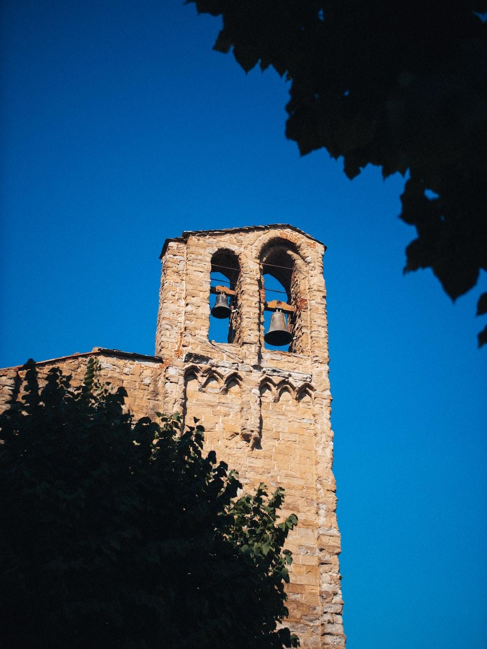 brown bricked church