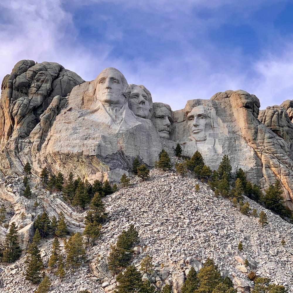 Mount Rushmore during daytime