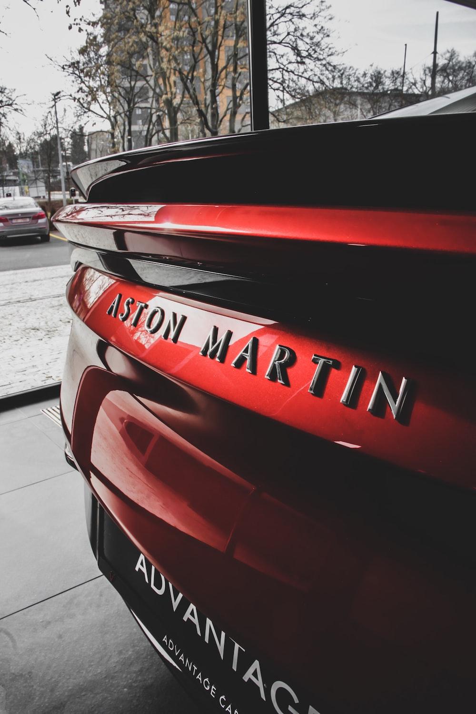 Aston Martin taillights