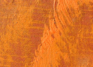 orange and brown painted wall