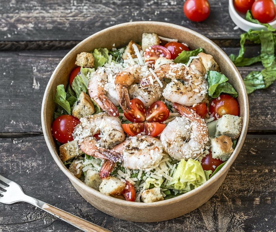 Viaje gastronómico con comida saludable