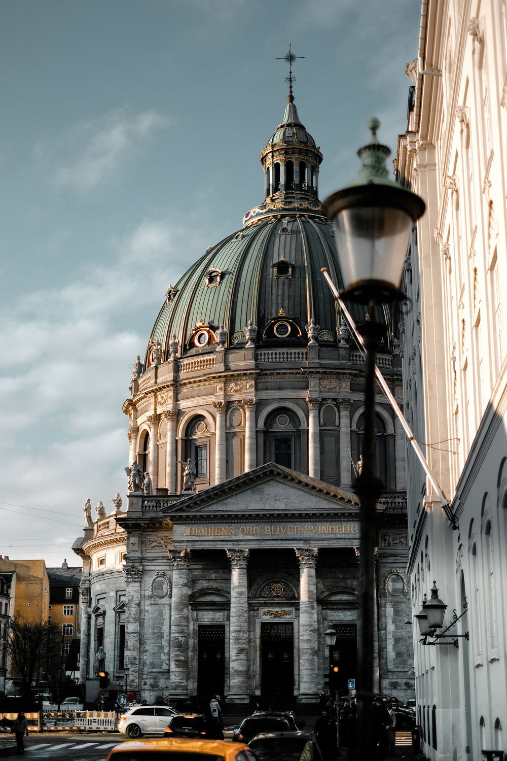 architectural photography Frederik's Church