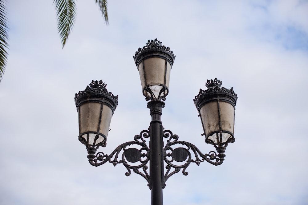 black light post