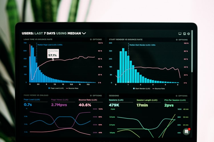 analytics of a hybrid trade show