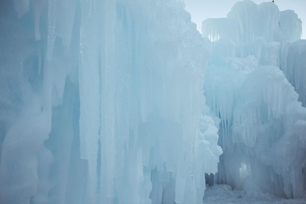 white ice berg