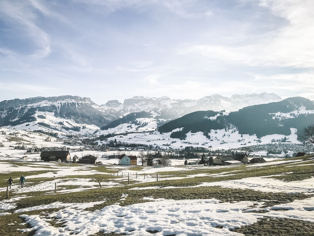 Had this beautiful sight while walking around somewhere on the hills in Appenzell.