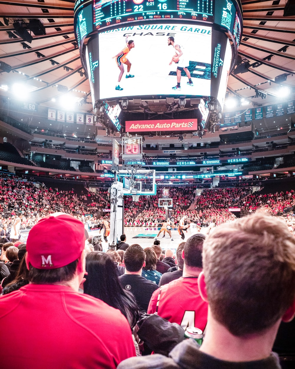 people watching NBA