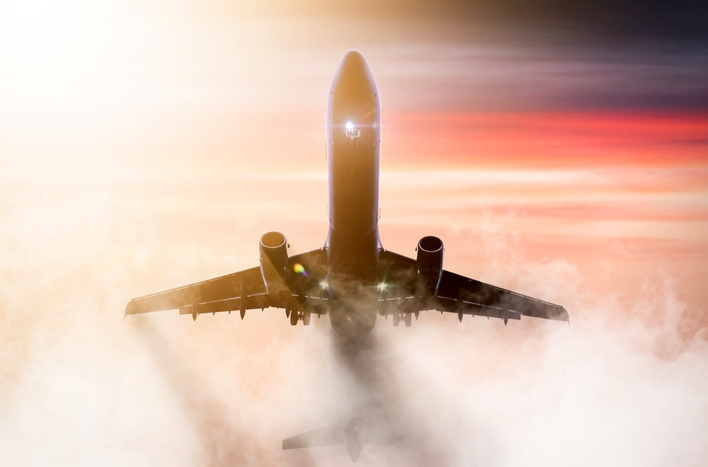 brown airplane during daytime