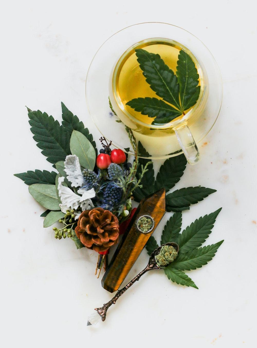 marijuana herbal tea