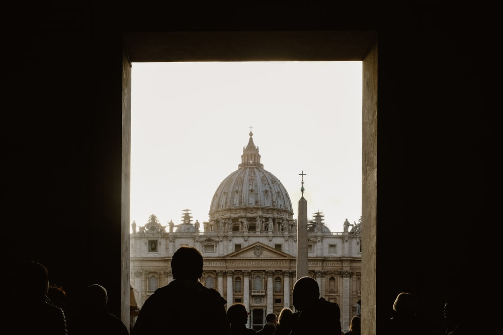 view of Saint Peter's Square