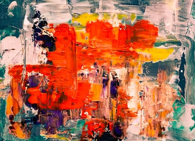 assorted-color painting expressionism zoom background