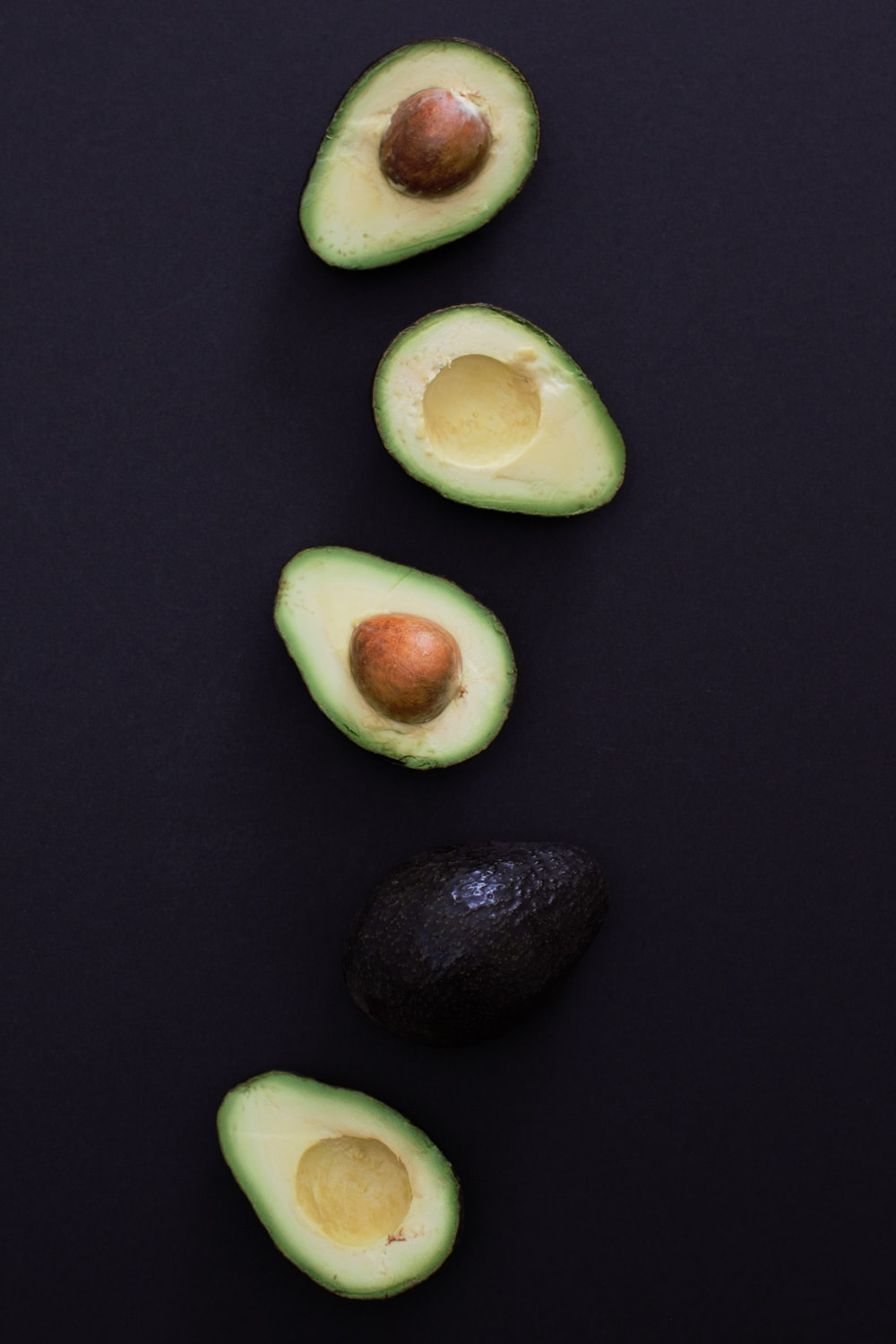 slice of avocado