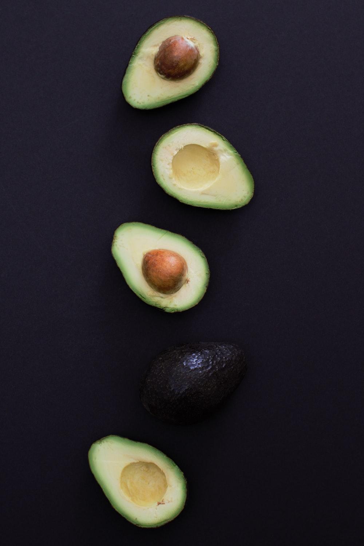 slice of avocado