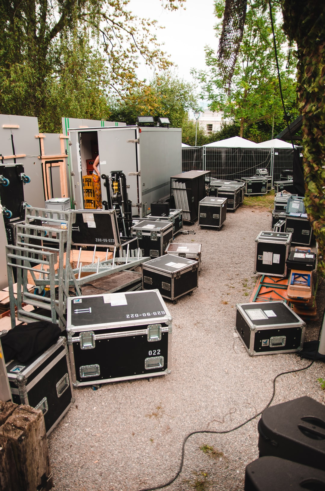 This is what our backstage looks like.