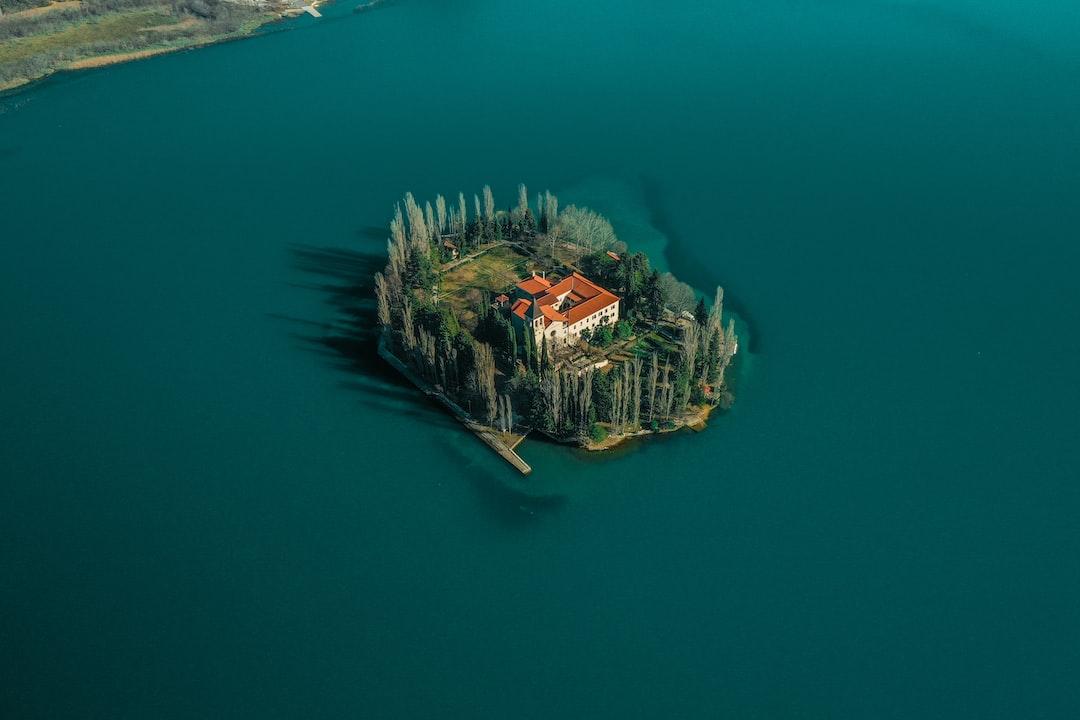Beautiful island Visovac
