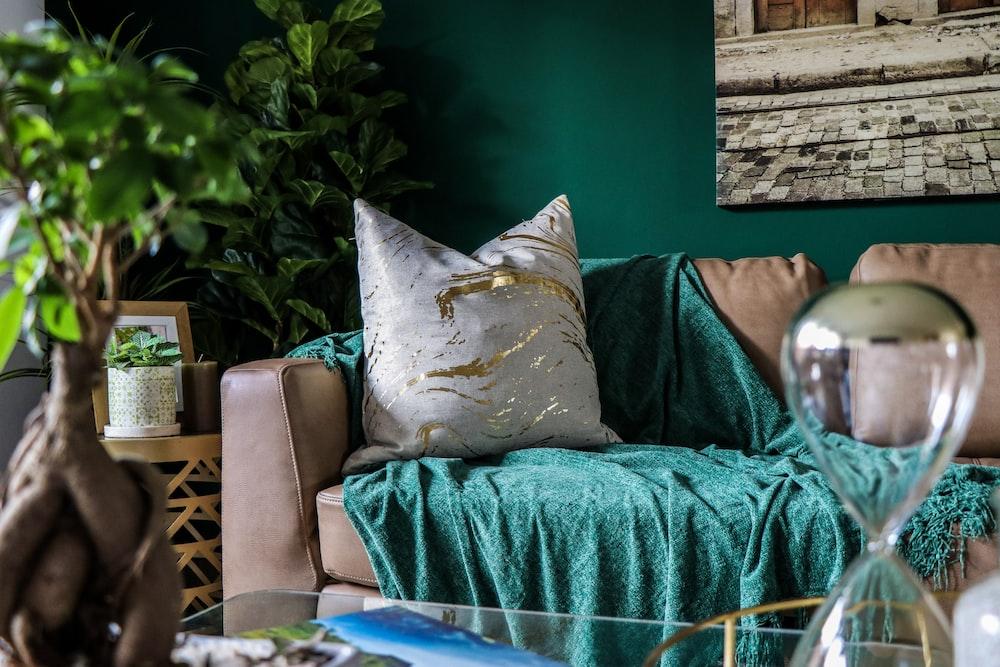 Peachy Three Assorted Color Throw Pillows On Black Sofa Photo Machost Co Dining Chair Design Ideas Machostcouk