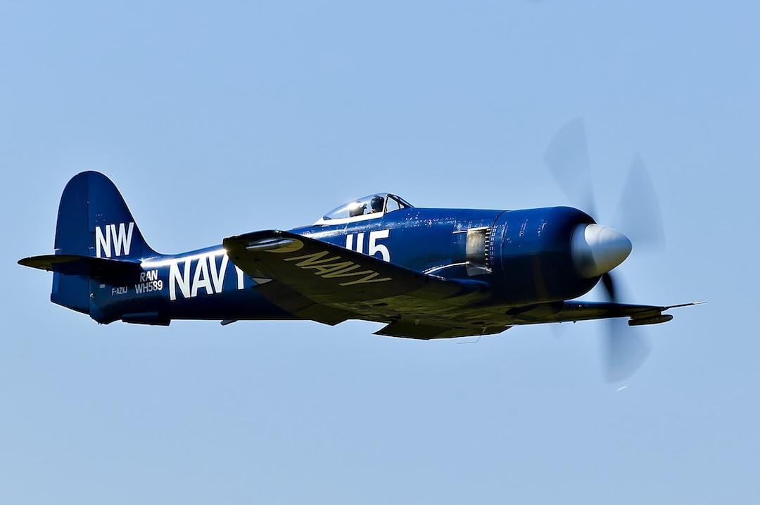 Hawker Sea Fury pass during La Ferté-Alais airshow