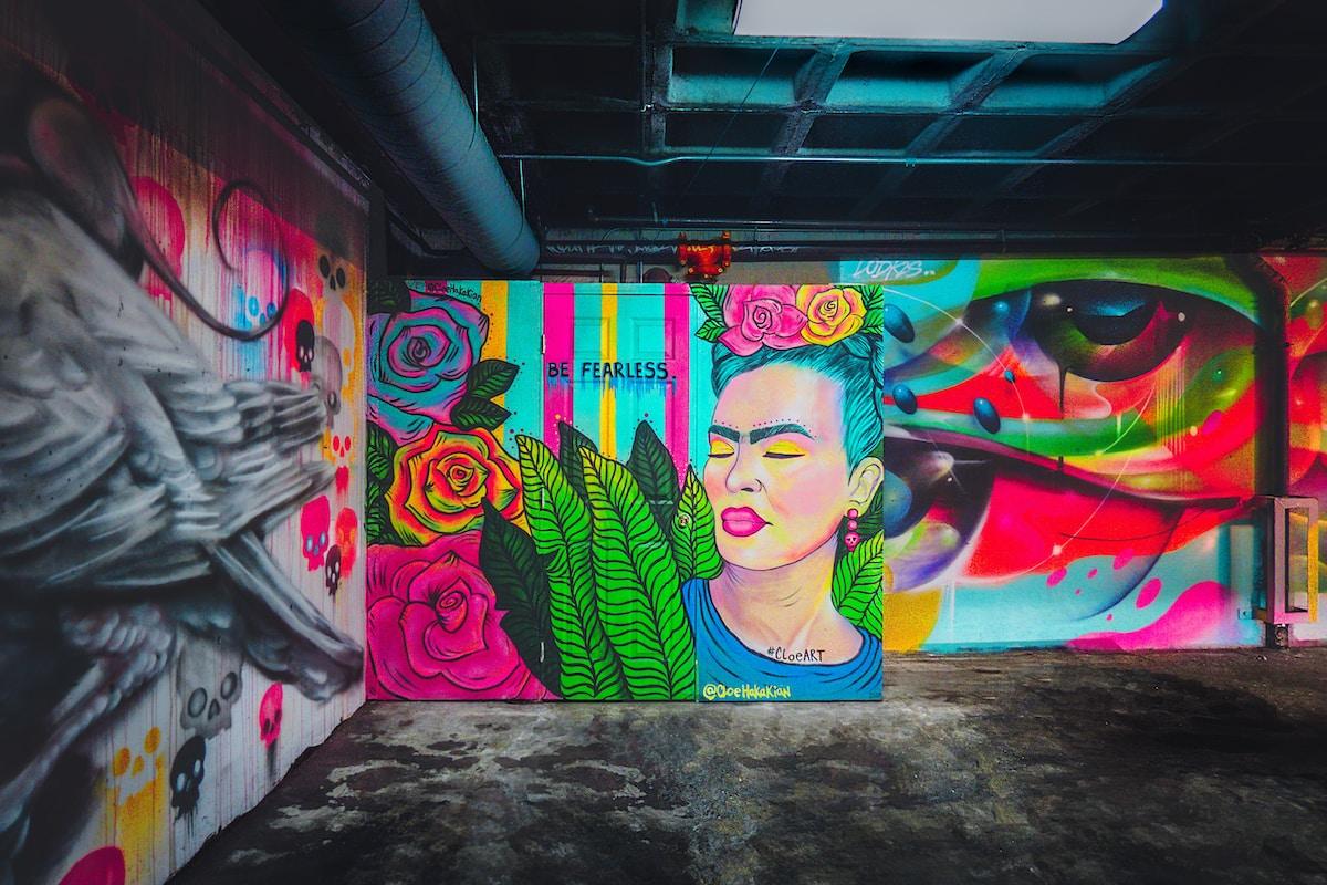 graffiti et street art avec Keusty