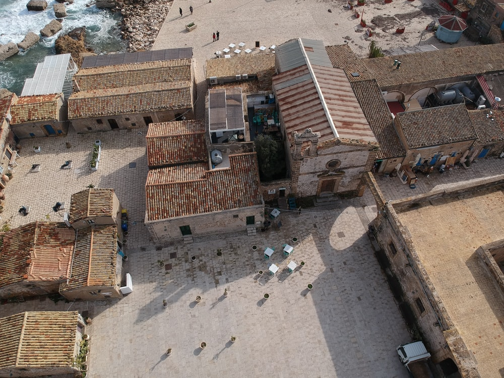 aerial view photography of houses at daytime