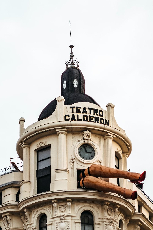 Teatro Calderon, Madrid during day