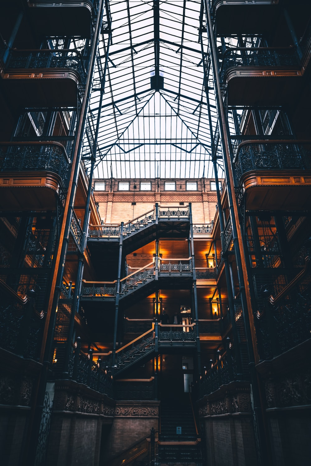 Bradbury Building, Los Angeles, United States Pictures | Download