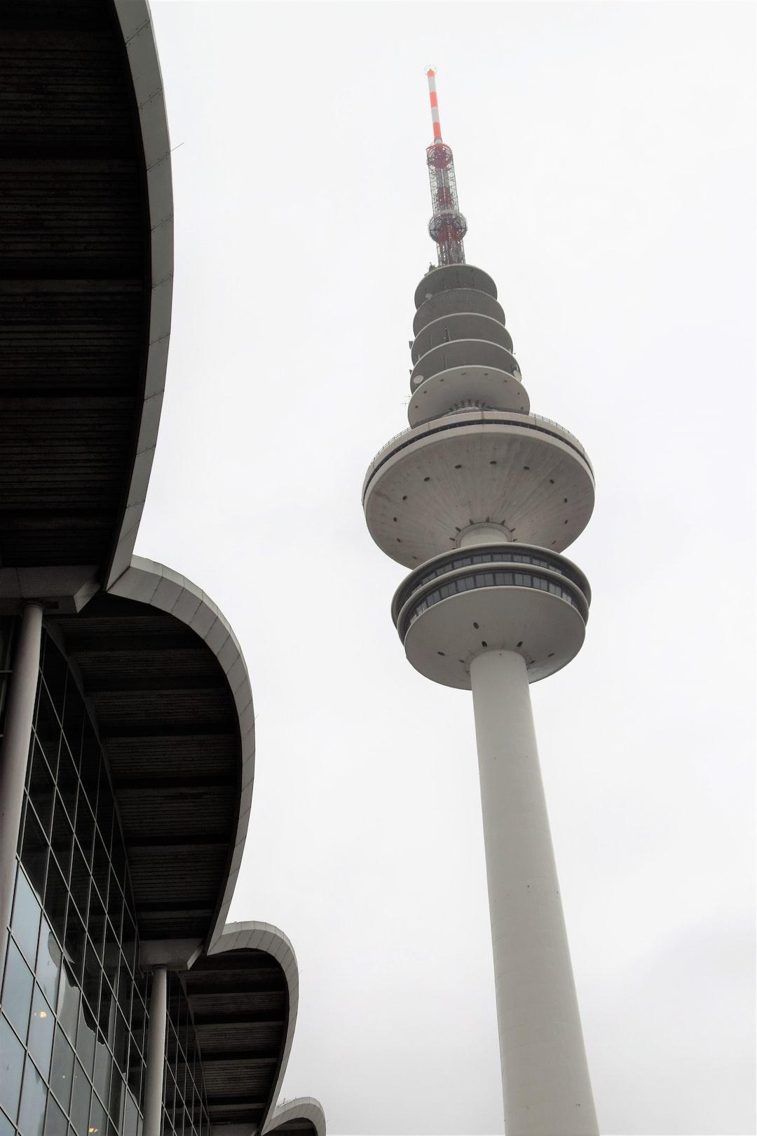 Hamburg TV Tower and Trade Fair Building