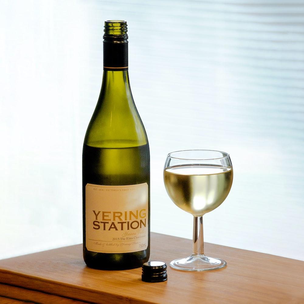 Yering Station glass beside wine glass