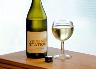 Yering Station glass beside wine glass
