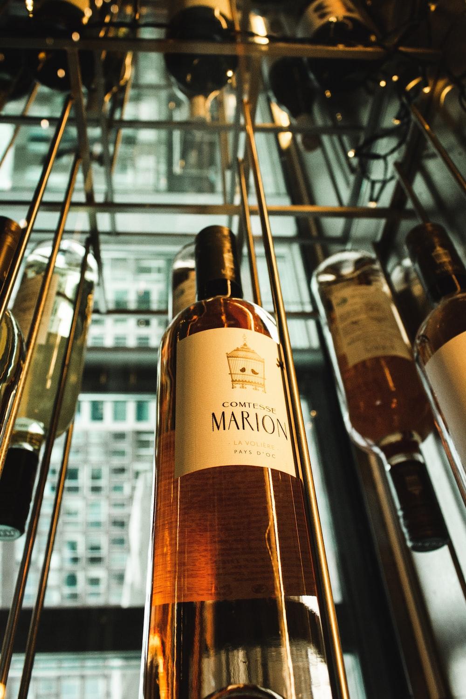Marion wine glass bottle