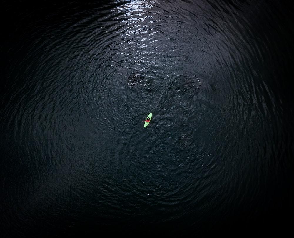 white kayak