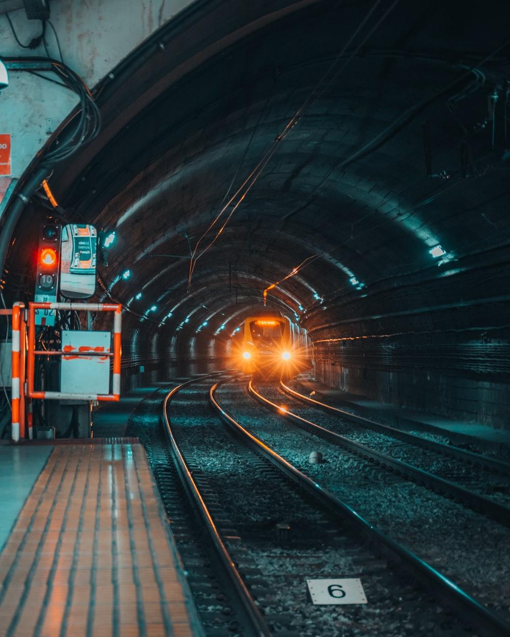 train railings photography