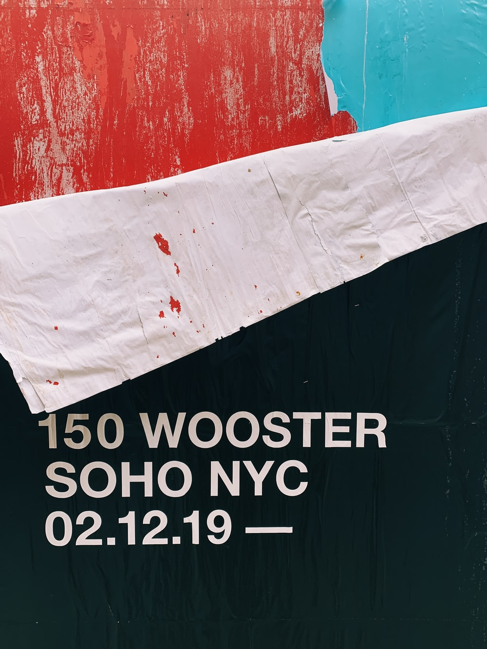 150 Wooster Soho NYC text