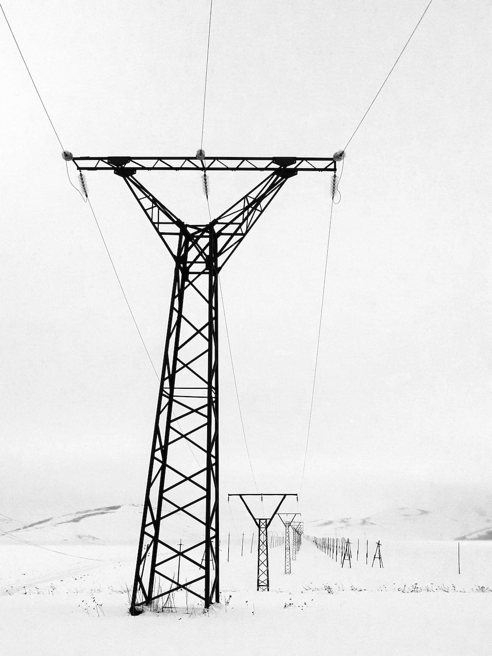 black post tower