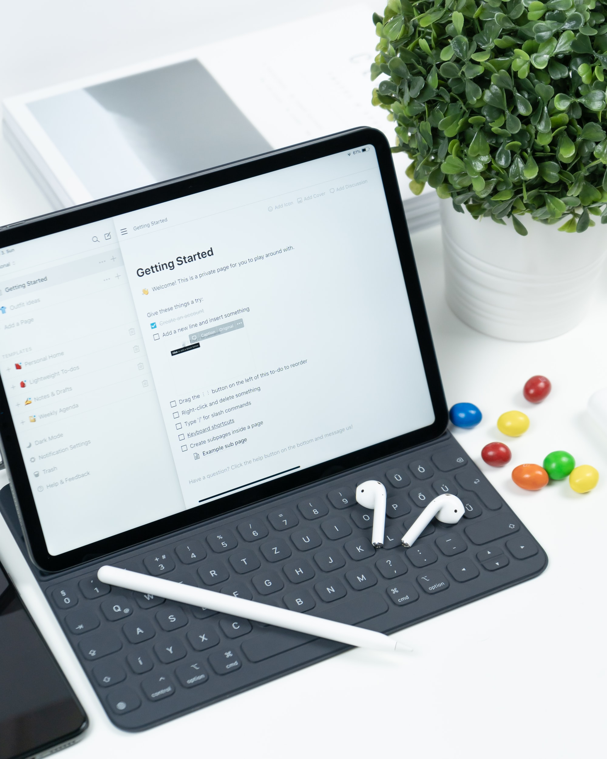 As dez melhores aplicações de texto para o teu iPad