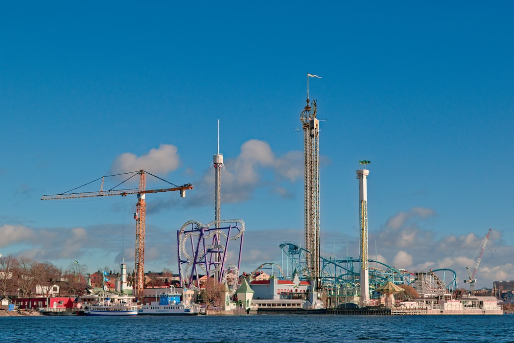 Grona Lund is one of the attractions in Stockholm