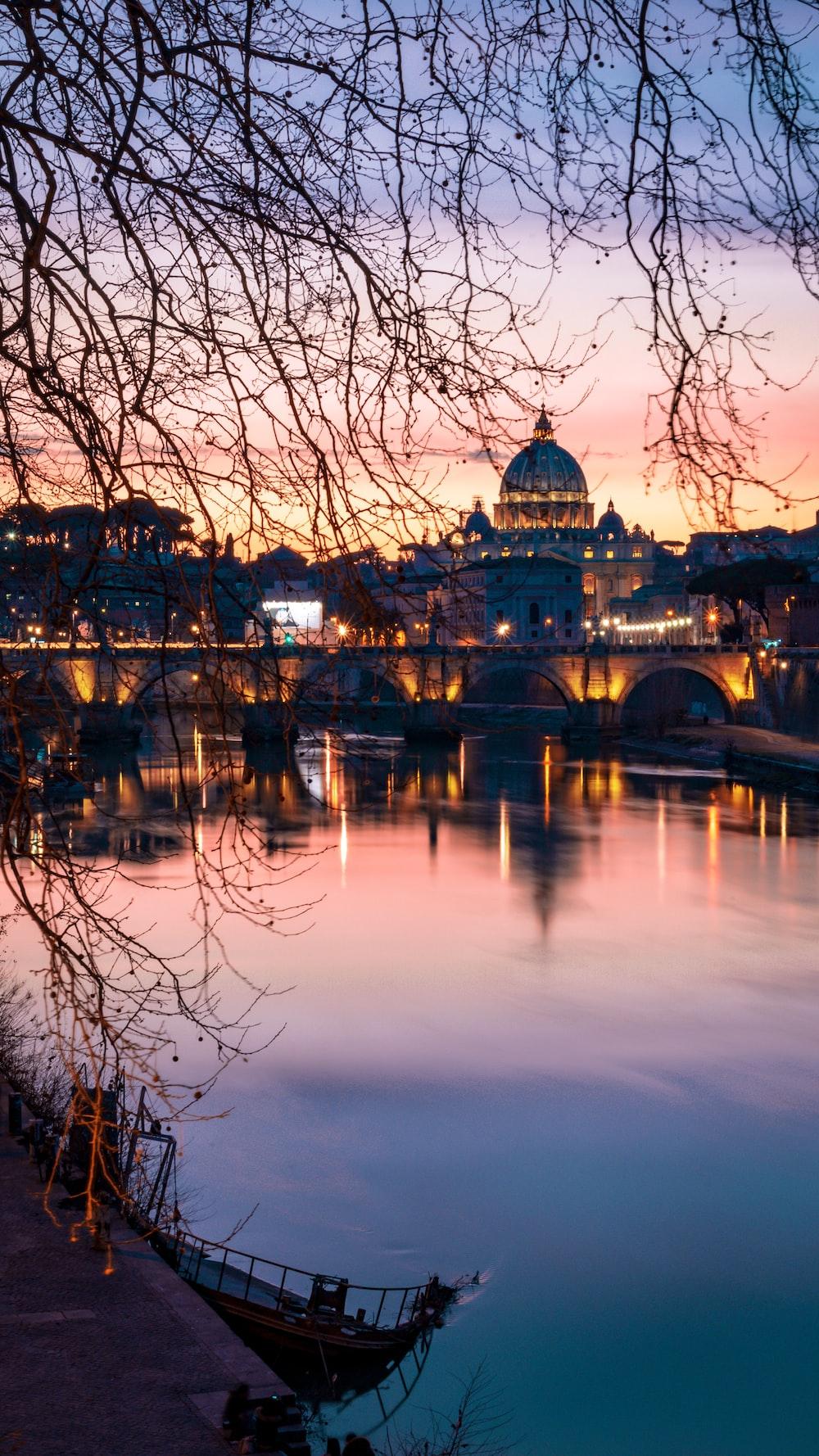Vatican city in Italy in December