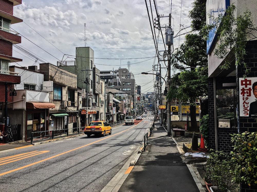 city during daytime