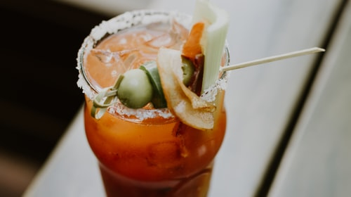 The spicy delights of a Bloody Mary