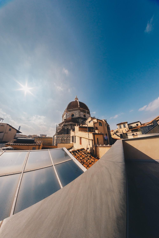 Vista Duomo Sulla Terrazza Del Museo Hd Photo By