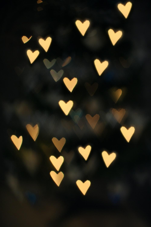 beige hearts light